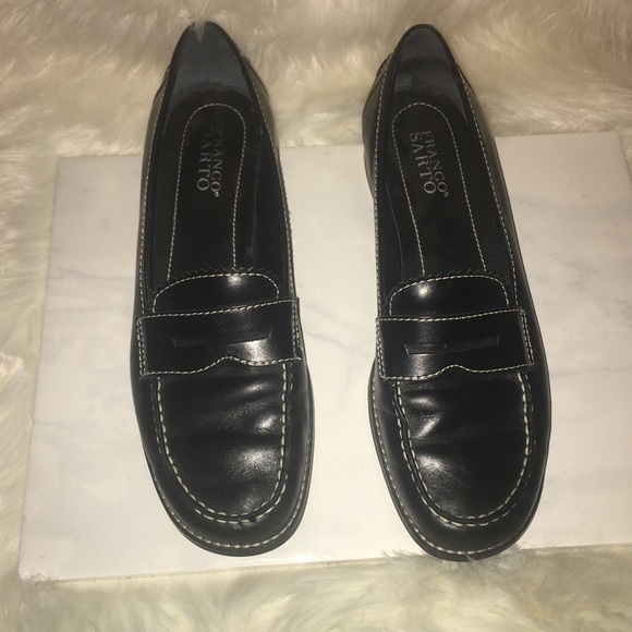 Franco Sarto Shoes | Nice Black Flat